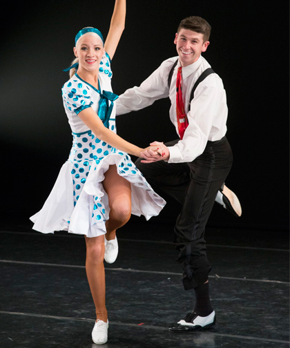 Описание танца Танец Джайв